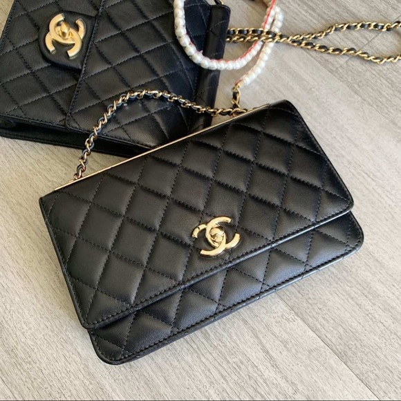 511af069872533 CHANEL Bags | Quilted Trendy Cc Wallet On Chain | Poshmark